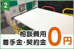 相談費用・着手金・契約金 0円